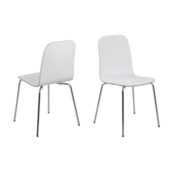 Krzesło do jadalni Bjoorn, białe