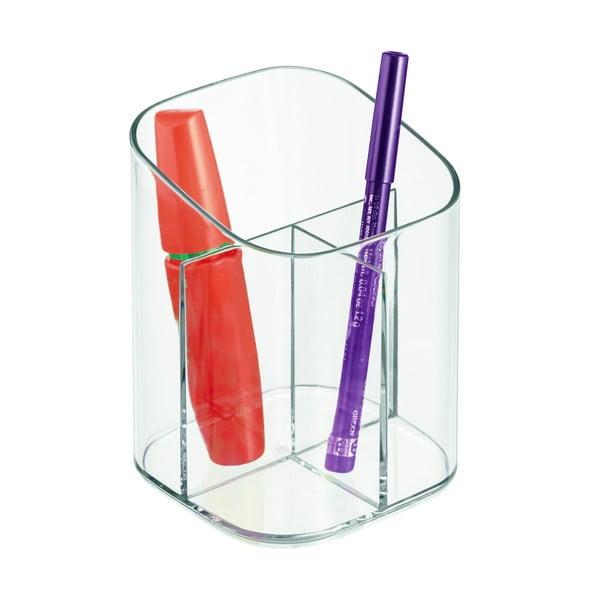 Organizer na kosmetyki InterDesign Clarity, 9 x 11 cm
