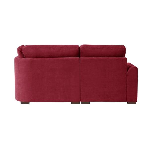 Sofa narożna Jalouse Maison Irina, lewy róg, czerwona