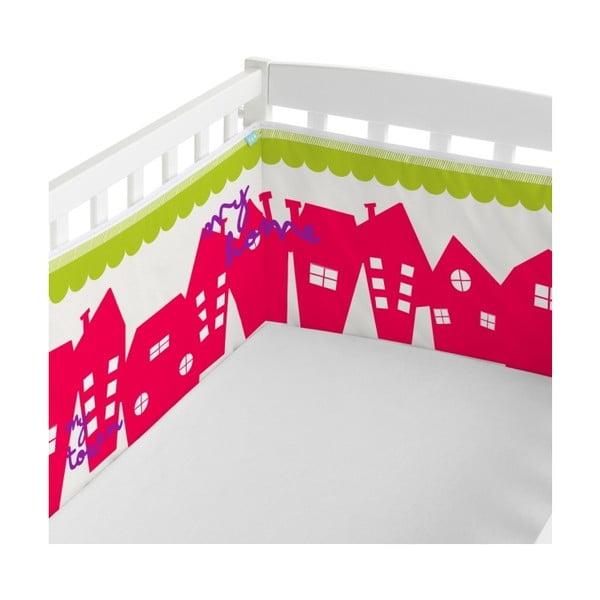 Ochraniacz do łóżeczka Little W My Town, 60x60 cm