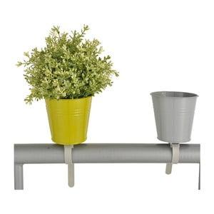 Zestaw 2 doniczek na balustradę Esschert Design Magic