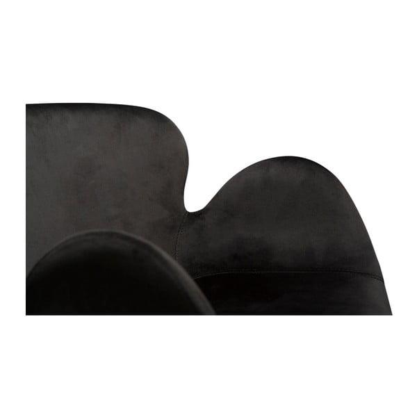 Czarne krzesło DAN-FORM Denmark Gaia