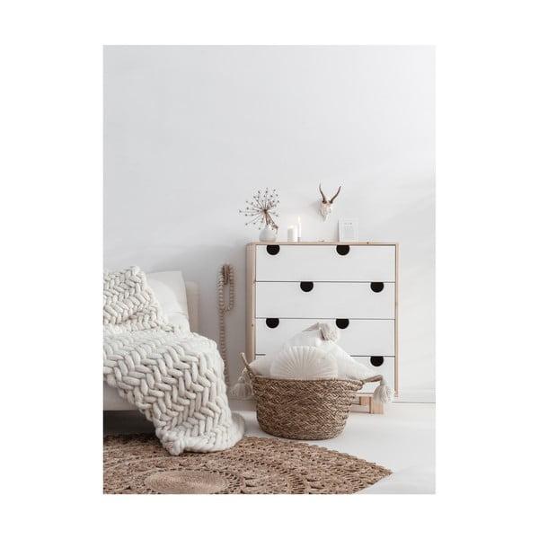 Komoda z 4 szufladami Karup DesignHouse Natural/White