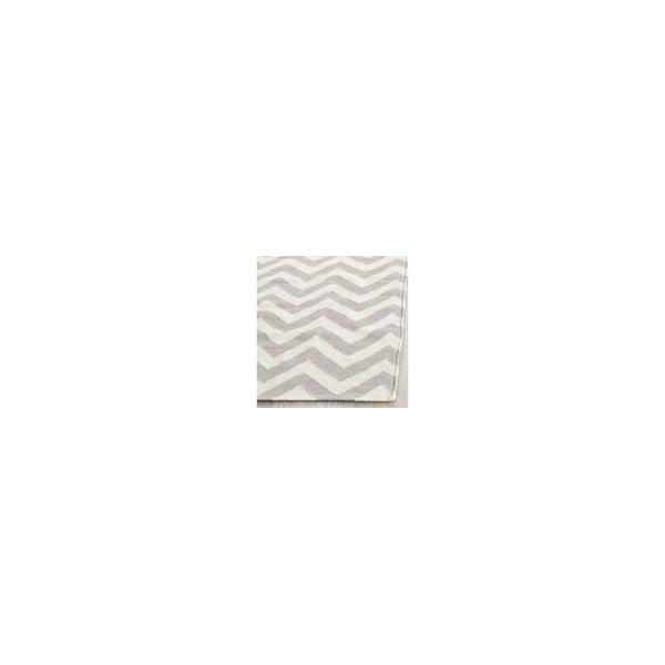 Wełniany dywan Nelli 76x182 cm, szary