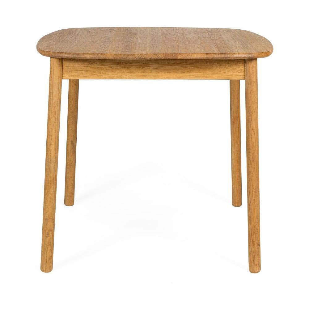 Stół z olejowanego drewna dębowego Askala Naos, 85x85 cm