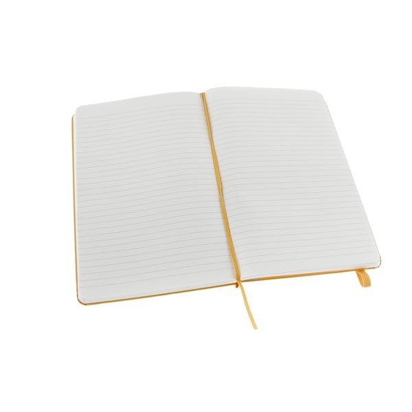Notatnik Moleskine XS Yellow, w linie