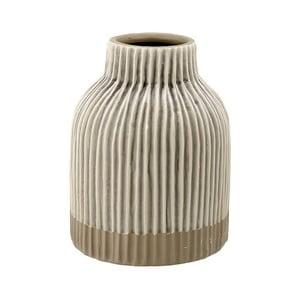 Beżowy wazon kamionkowy Ladelle Nori