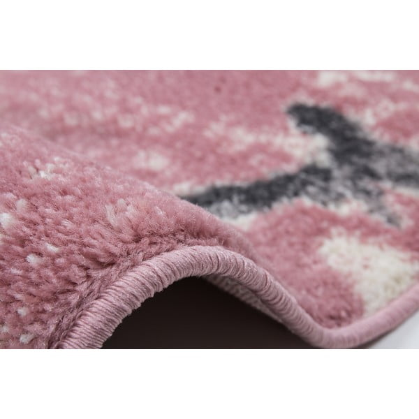 Dywan Playa 80x150 cm, różowy