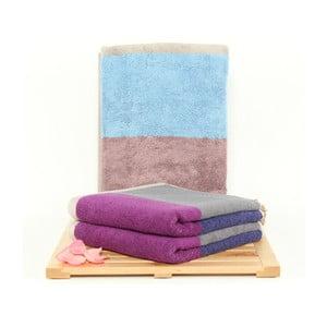Zestaw 3 ręczników Felix Sky, 50x100 cm