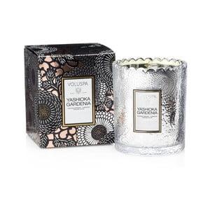 Świeczka o zapachu gardenii, nocnego hiacynta i tunezyjskich goździków Voluspa Limited Edition, 50godz.