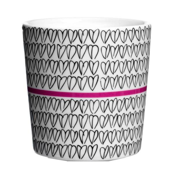 Kubek Heart Mug Pink