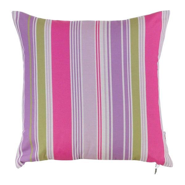 Poduszka z wypełnieniem Purple Stripes