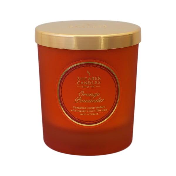 Świeczka zapachowa Shearer Candle, pomarańcza z przyprawami korzennymi