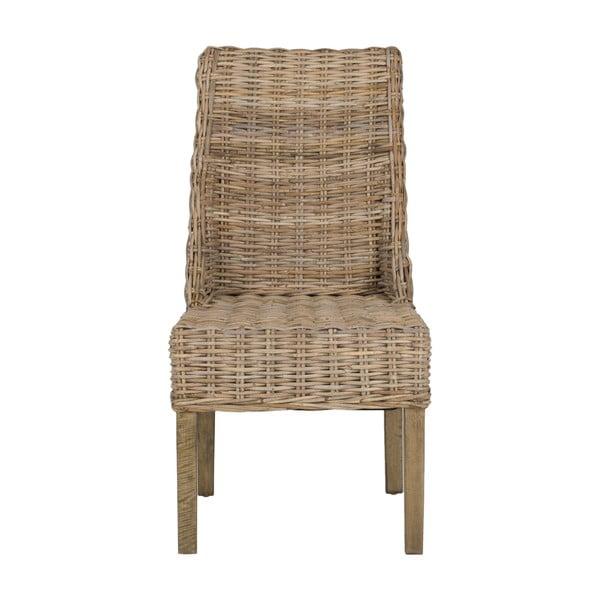 Zestaw 2 krzeseł rattanowych Safavieh Suncoast