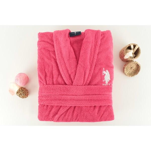 Szlafrok damski U.S. Polo Assn. Pink, S