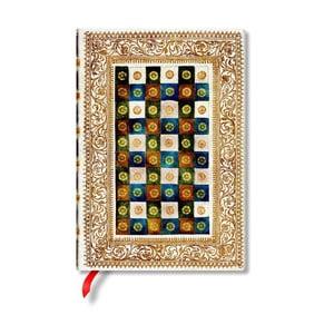 Notes w twardej oprawie Paperblanks Aureo, 13x18cm
