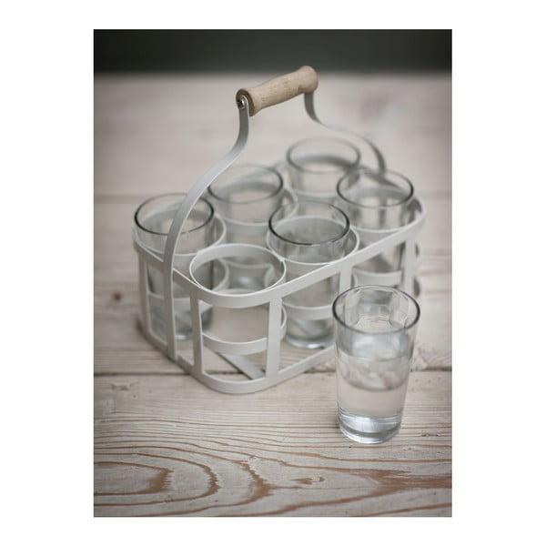 Skrzynka z 6 szklankami Glass Carrier