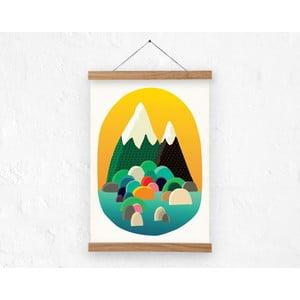 Plakat Two Peaks, rozm. A3