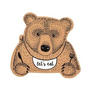 Korkowa mata stołowa Bloomingville Bear