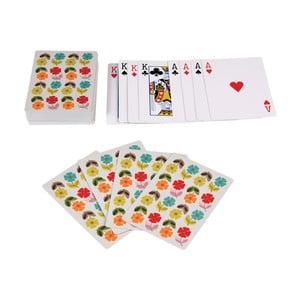 Karty do gry w pojemniku blaszanym Rex London Poppy