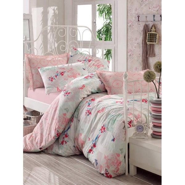 Różowa narzuta na łóżko Love Colors Molly, 200 x 240 cm