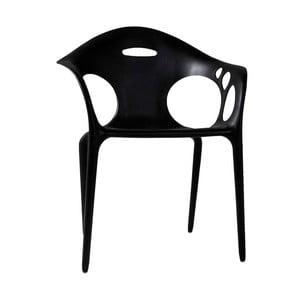 Czarne krzesło Canett Latino