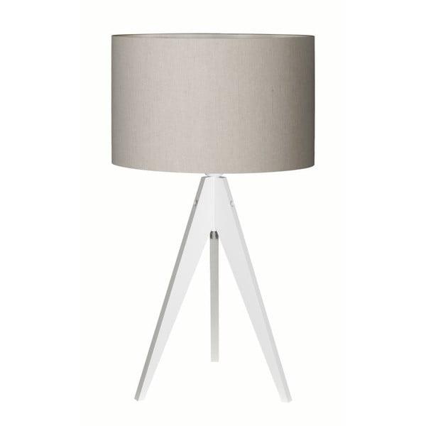 Lampa stołowa Artist Birch White/Grey