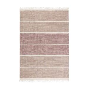 Wełniany dywan Reita Bordeaux, 140x200 cm