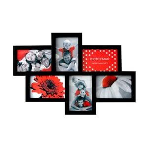Połączone ramki na 6 zdjęć Photo, czarne