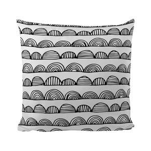 Poduszka Black Shake Bumby Stripes, 50x50 cm
