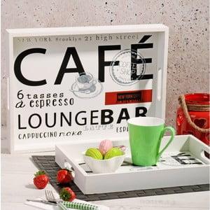 Zestaw 2 drewnianych tac Lounge Bar