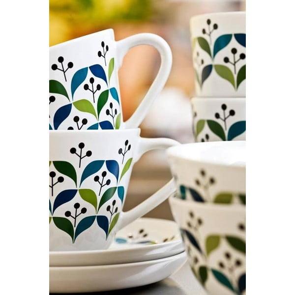 Porcelanowa   filiżanka ze spodkiem Retro