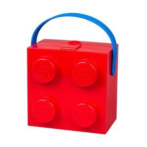 Czerwony pojemnik z uchwytem LEGO®