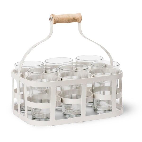 Skrzynka z 6 szklankami Garden