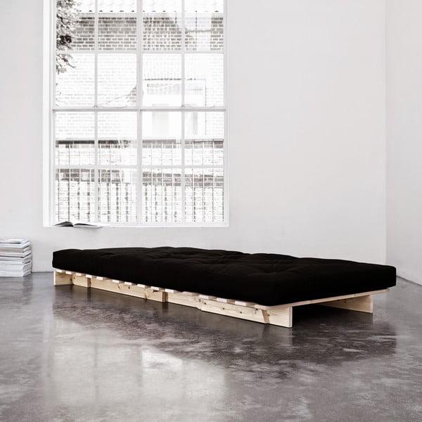 Fotel rozkładany Karup Roots Raw/Black
