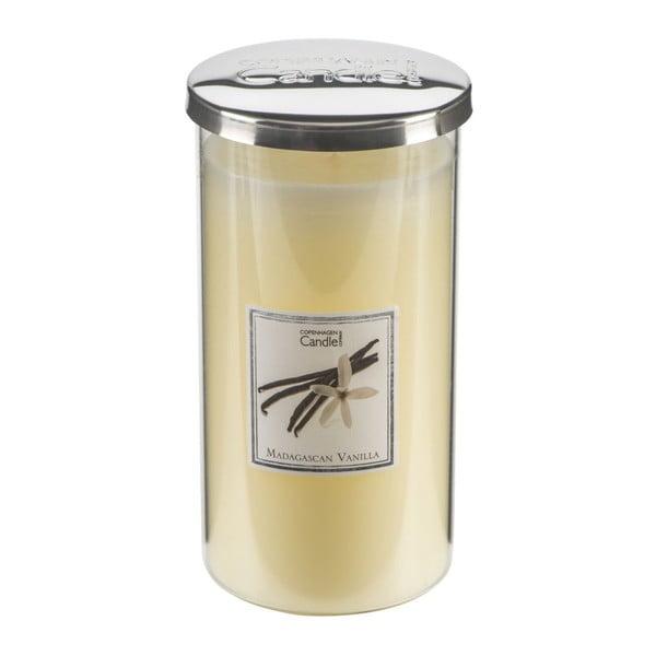 Świeczka zapachowa o zapachu wanilii Copenhagen Candles Madagascan Talll, czas palenia 70 godz.