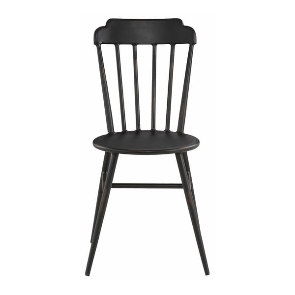 Zestaw 2 czarnych krzeseł bukowych Støraa Toledo