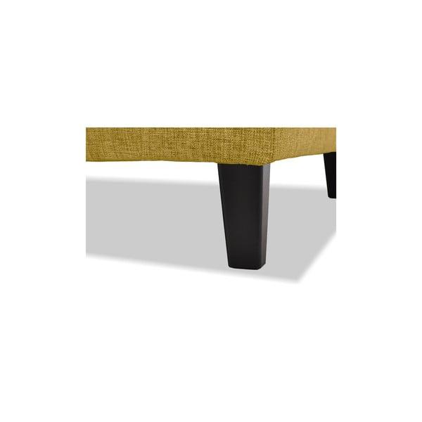 Żółta sofa trzyosobowa Vivonita Monroe