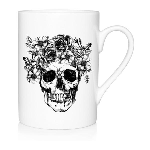 Porcelanowy kubek Skull, 300 ml
