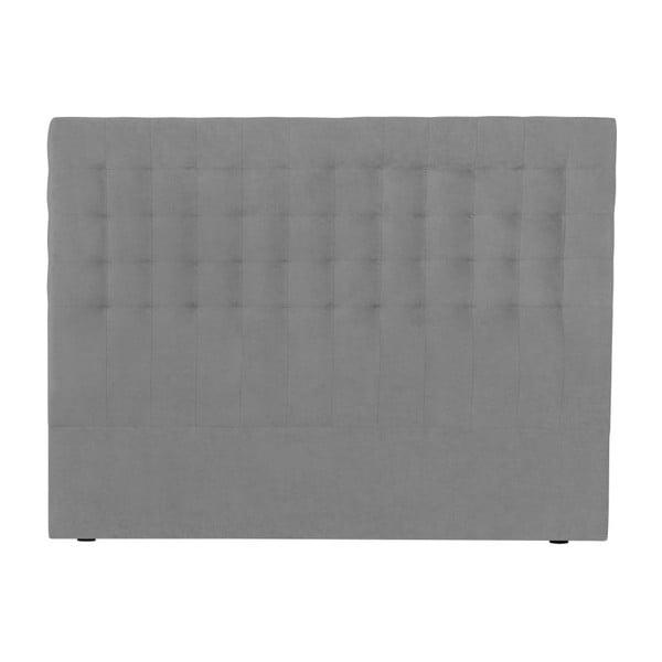 Jasnoszary zagłówek łóżka Windsor & Co Sofas Nova, 200x120 cm