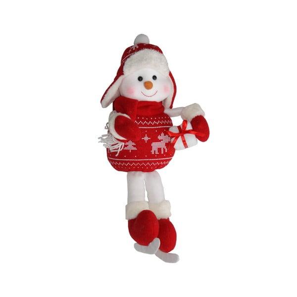 Dekoracyjna figurka Sitting Snowman