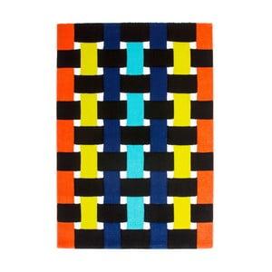 Dywan Lifestyle 172 pomarańczowy/zielony, 120x170 cm