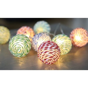 Lampa Striped Balls