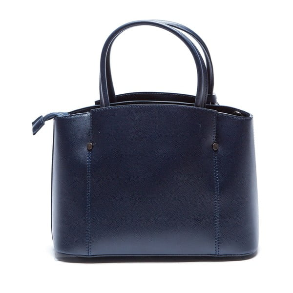 Niebieska skórzana torebka Sofia Cardoni Irene