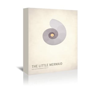 Obraz na płótnie The Little Mermaid With Text