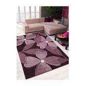 Dywan Webtappeti Intarsio Floral Violet, 120x170 cm