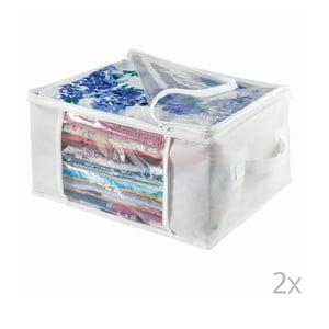 Zestaw 2 pudełek InterDesign Zipper