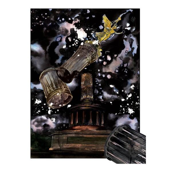 "Plakat autorski Toy Box ""Bomby nad Berlinem"", 60x45 cm"