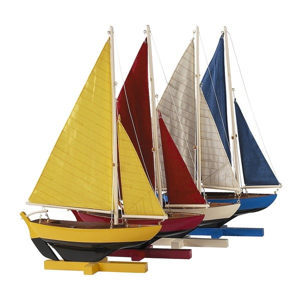 Zestaw 4 modeli żaglowca Sunset Sailors
