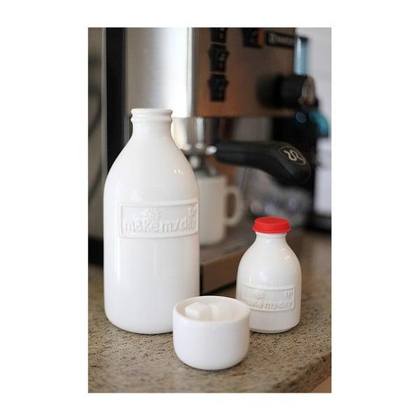Cukierniczka i dzbanek na mleko Retro
